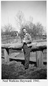 Ned Heyward 1941
