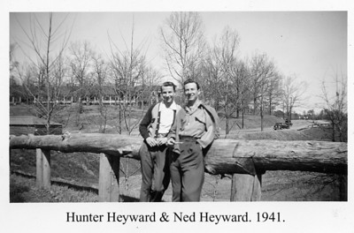 Hunter & Ned Heyward 1941