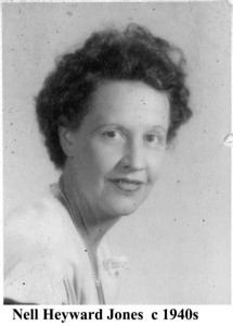 Nell Jones c 1940s