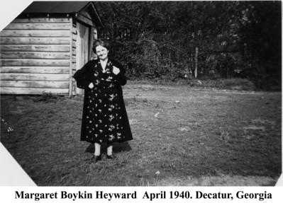 Margaret B Heyward 1940
