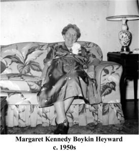 Margaret B Heyward 1950s