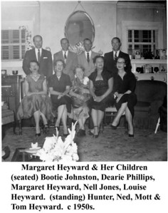 Margaret Heyward & Children 1950s