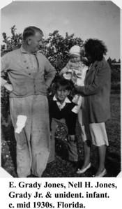 Grady Nell & Grady Jr mid 1930s