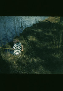 Billy Fishing 1955