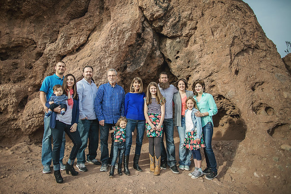 Heywood Extended Family 2016