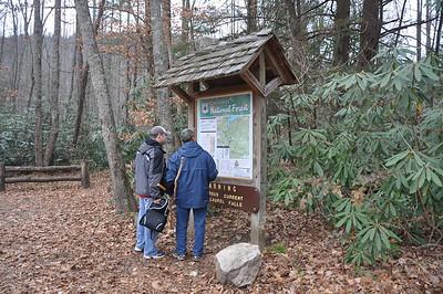November 2010 Hiking Tennessee
