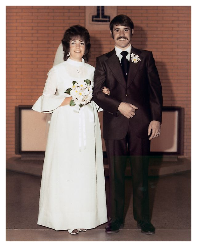 Steve and Laurie Whitford Wedding Photo (8×10 w/ border)