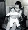 Beth and Kathy, 1st grade.
