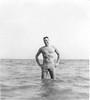 Biloxi 1956 Dad in ocean-3
