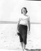 Biloxi 1956 Mom on beach-4