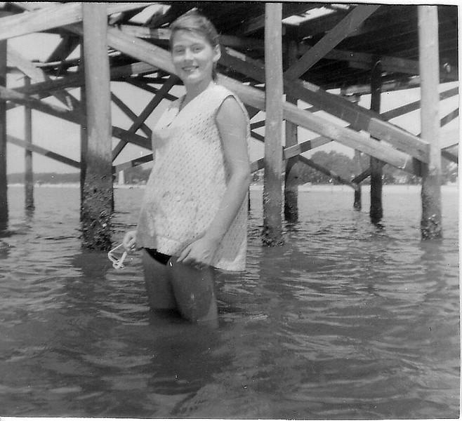 Biloxi 1956 Pregnant Mom-5