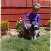 Mom & poodle-8