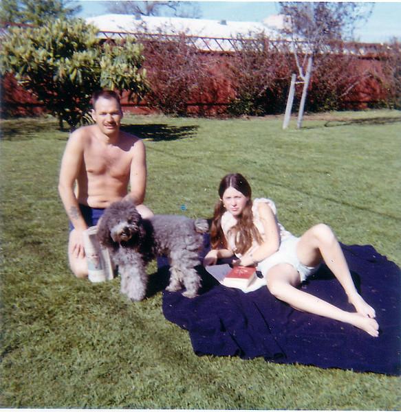 Cad Suzette & poodle-12