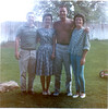 Suzette took picture (Bill, Claudioa, Ray & Adrienne) - April 1962-4