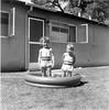 Suzette & Josie in pool-7