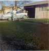 Dad, front yard, 1957 Chevy Belair-3b