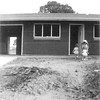 1st house in California: Adrienne with Suzette and Josie