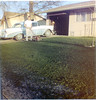 Dad, front yard, 1957 Chevy Belair-3a