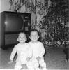 Suzette & Josie 1 yr Christmas