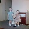 February 1960 Suzette 3 5 yrs & Josie 2 yrs