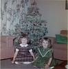 Christmas 1961 - Suzette & Josie