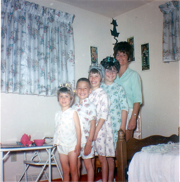 four kids & mom-3