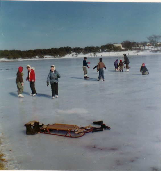Cape Cod 1962 (Josie purple, Mike blue w red&white hat)-6