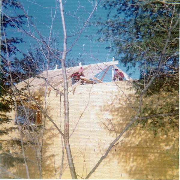 House Construction - Mom & Dad Feb 1973-14