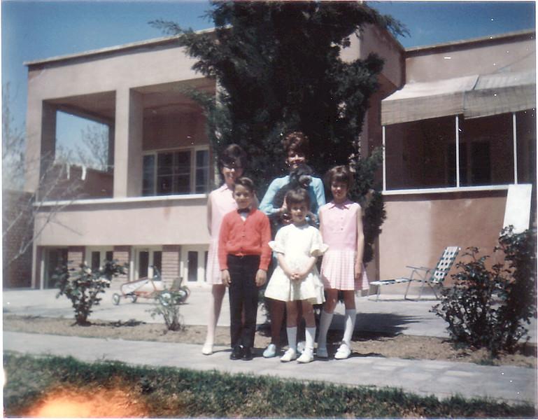 Iran Mom & kids April 14 1968-10