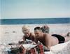 Iran Mom & Dad on beach-52