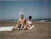 Iran Mom & Dad on beach-45