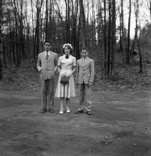 Billy, Adrienne, Robert
