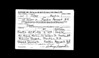 Sidney Martin WWII Draft Registration Card