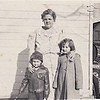 1950   Dennis, Diane and Grandmother Hoffman  Anna