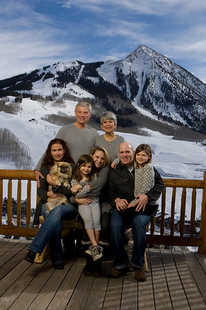 Hogue family in CB