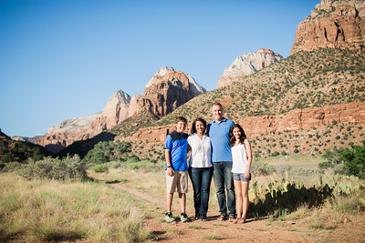 Holder Family in Zion