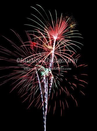 4th of July Fireworks  - 03 Jul 2010