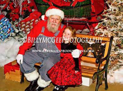 B&O Railroad Museum Santa - 13 Dec 09
