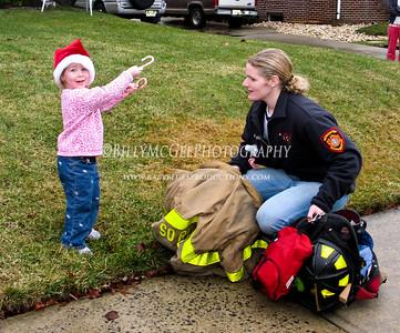 Fire Station Santa - 23 Dec 07