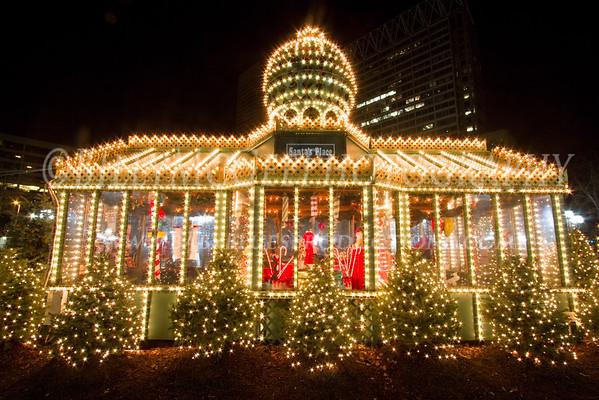 Inner Harbor Christmas Lights - 05 Dec 09