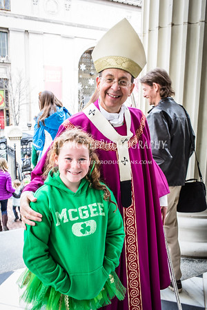 St. Patrick's Parade Mass - 18 Mar 2014