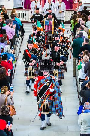 St. Patricks Parade Mass - 15 Mar 2015