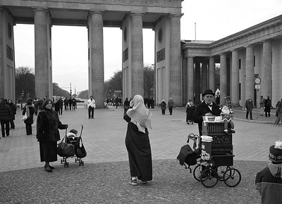 The Brandenburger Tor.