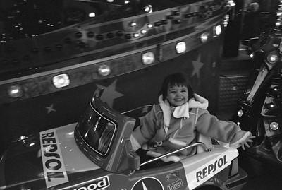 Octavia enjoying the Weihnacht markt.