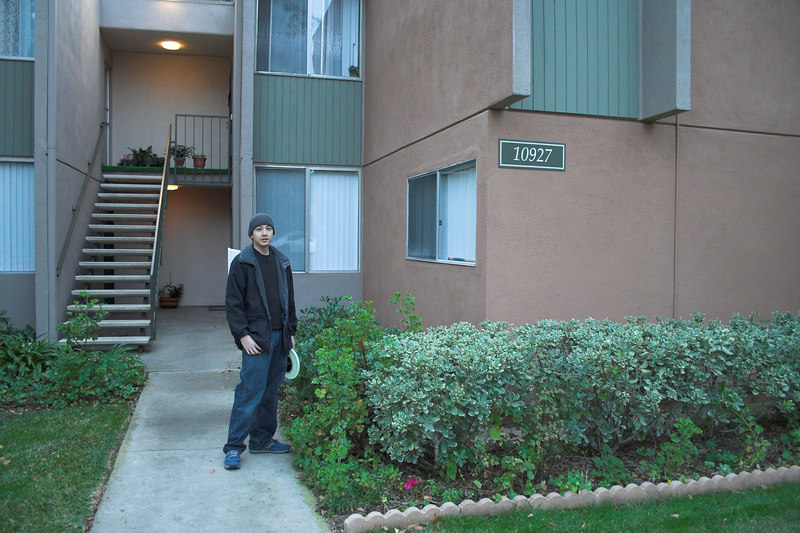 Danny was way too young to remember, but his parents and older brothers grew up in this apartment, which was about 5 minutes walking distance from ours.