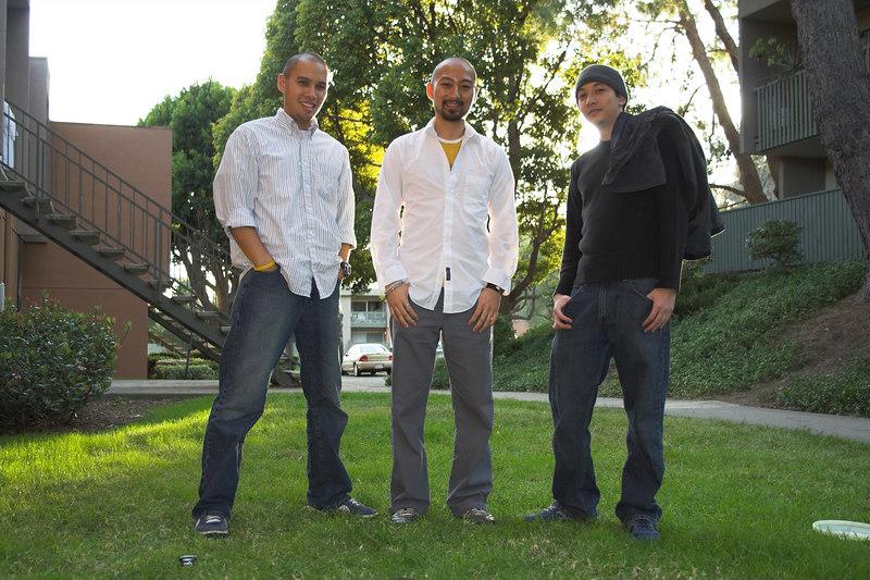 We look like a frigg'n boy band...
