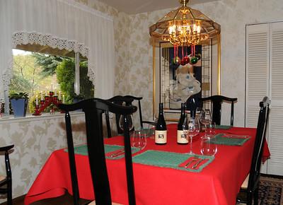 Christmas Eve table.