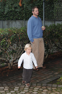 Father and Son - Michael and his oldest son Grant.