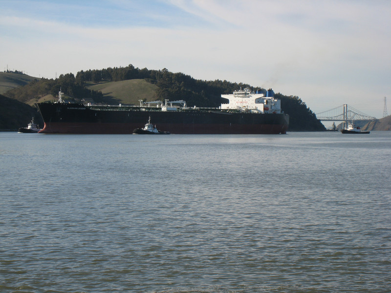"They were guiding the ""Alaskan Legend"" into port."