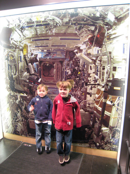 Feeling the effects of micro gravity.